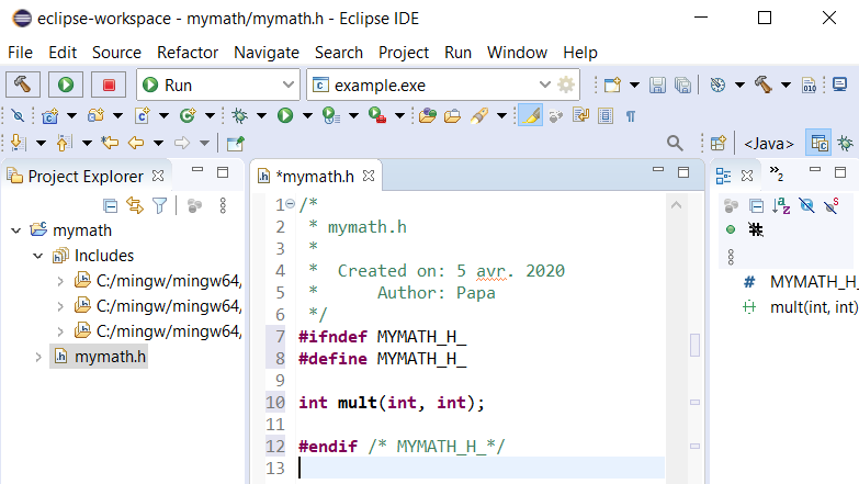 Dll With Mingw Gcc Toolchain In Eclipse Ide
