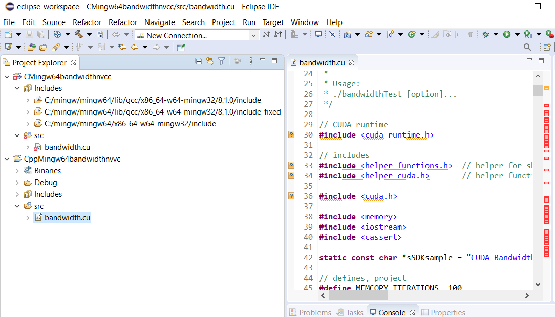 Nvcc In Eclipse Ide