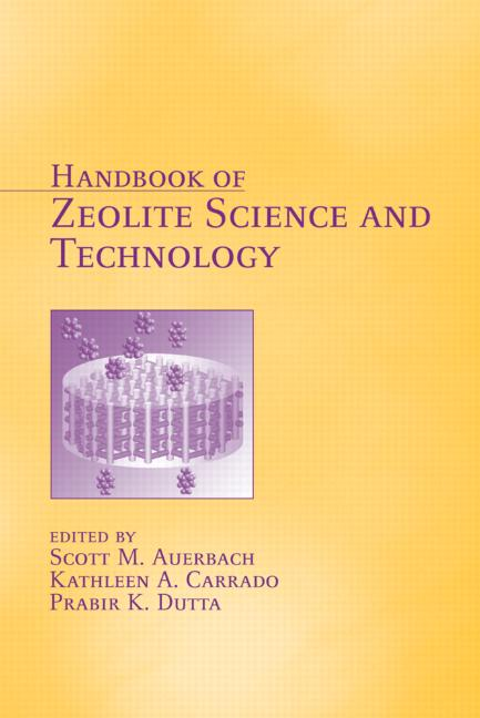 Handbook of Zeolite Science and Technology
