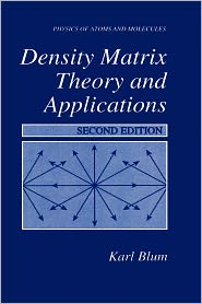 Density Matrix - Theory and Applications